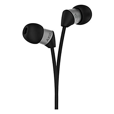 AKG Y 23U In-Ear Headphones With Universal One-Button Mic (Black)