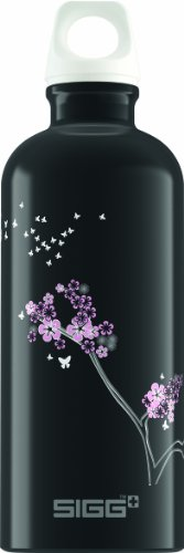 Sigg Night Whispers Water Bottle, Black, 0.6-Liter front-1060552