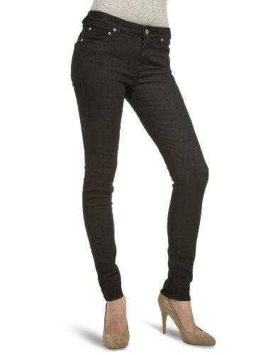 Lee Women's Scarlett Jeans Super Black 27W x 31L