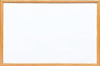 ナカバヤシ ウッドホワイトボード 900×600mm ナチュラル木目 WBM-9060NM