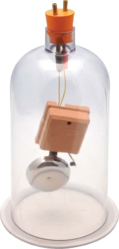 Eisco Acrylic Bell In Vacuum Jar, 4-6V Dc back-117135