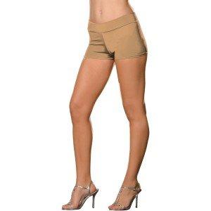 Dreamgirl Women's Roxie Hot Short, Nude, Small/Medium (Sexy Nude Halloween Costumes)