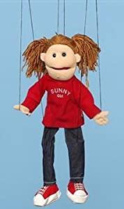 Sunny Puppets Girl Marionette by Sunny Puppets