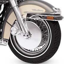 H-D Chrome Caliper Rotor Cover 42230-00