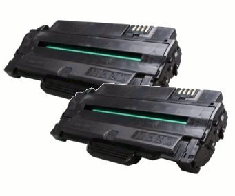 Compatible Laser Toner Replaces Samsung MLT-D105L – 2 Pack