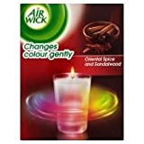 Airwick Touch of Luxury Oriental Spice & Sandalwood Colour Change Candle