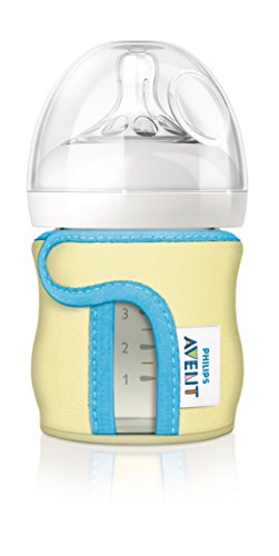 Philips Avent Glass Bottle Sleeve, 4 Ounce (colors may vary)