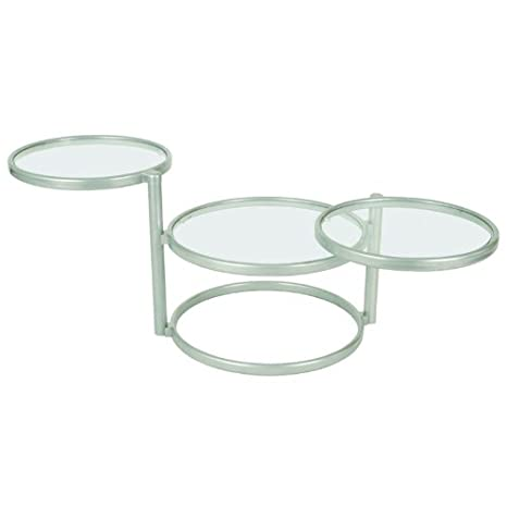 HAKU, Tavolino da caffè, Alluminio (alu), 58/140 x 50 x 43 cm
