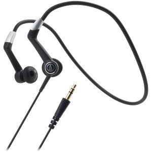 Audio-Technica ATH-CP700BK Backband Design SonicSport headphones ( earphone ) (ATH-CP700BK)-[parallel import goods]