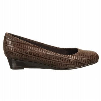 Details for Trotters Women's Lauren Slip-On Shoes, Dark Brown, 8.5 Ww/2E from Trotters