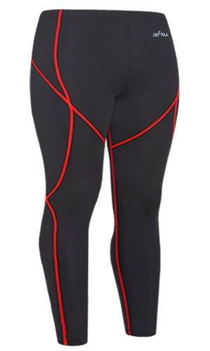 Emfraa Skin Tights Compression Leggings Running Base Layer Pants Men Women S ~ XXL