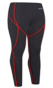 Emfraa Skin Tights Compression Leggings Running Base Layer Pants Men Women S
