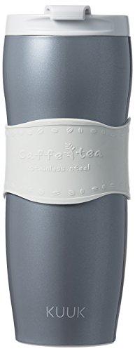 Kuuk Travel Cup thermos Mug for Coffee & Tea - Stainless Steel - 12oz