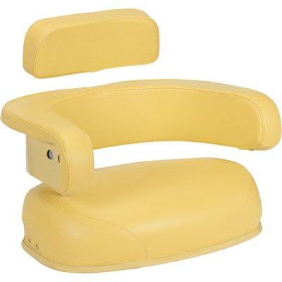 John Deere Replacement Cushion Seat -Yellow, Model# 55000Ye02Jd