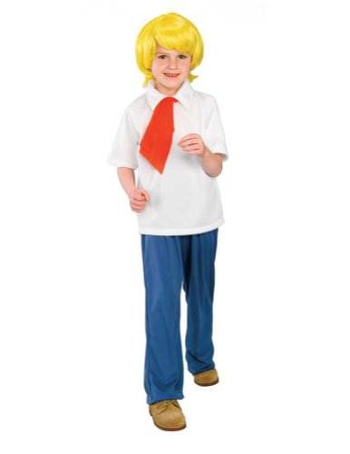 Scooby Doo Fred Child Md Kids Boys Costume