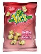 Vic\'s Kettle Style Popcorn 1 Oz Bags 30 Count Per Case