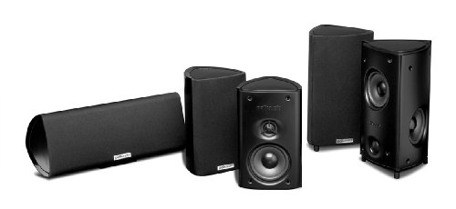 Polk Audio RM85 5-Channel Home Theater System (Set of Five, Black)