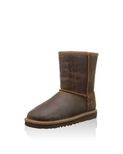 UGG Stivaletto Classic Short Leather [Nocciola]