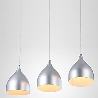 Modern Stylish Brief 3 Light Pendant With White Light