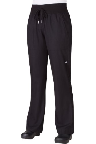 Chef Works Women's Comfi Chef Pant (PW004) (Mens Restaurant Work Pants compare prices)