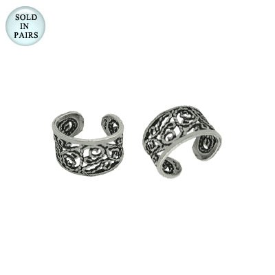 Unique Design Ear Cuffs .925 Sterling Silver