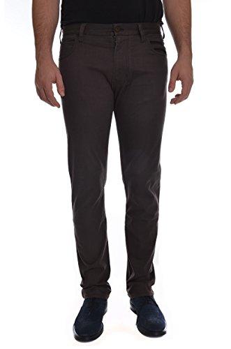 <p>ARMANI JEANS Pantaloni in cotone 5 tasche uomo, J45 nero/moro, vestibilità slim</p>
