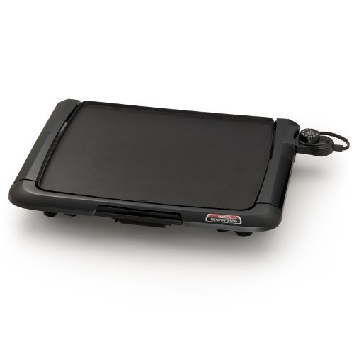 Presto 07045 Family-Size Cool-Touch Tilt'N Drain Electric Griddle Home Supply Maintenance Store