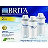 Brita 35503 - Pitcher Replacement Filters, 3/Pack