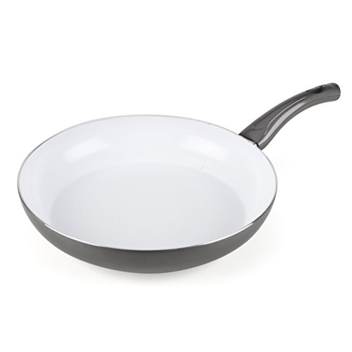 Bialetti 07227 Aeternum Easy Saute Pan, 11.75-inch, Silver (Bialetti Saute Pan compare prices)