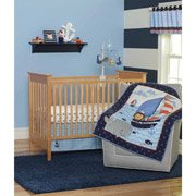 Child Of Mine By Carter'S Captain Cutie 3-Piece Crib Bedding Set front-160181
