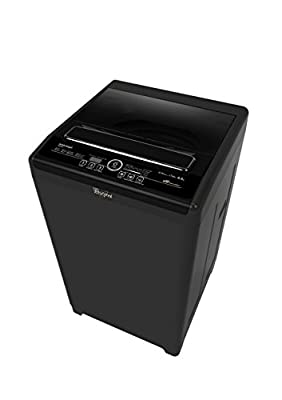 Whirlpool WM Royale 6512SD Fully-automatic Top-loading Washing Machine (6.5 Kg, Grey Chrome)