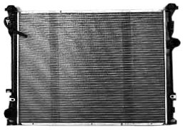 TYC 2767 Chrysler 300 1-Row Plastic Aluminum Replacement Radiator (2010 Dodge Charger Radiator compare prices)