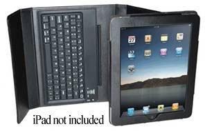 SONiK DATA 76-Key Bluetooth Keyboard & Case For iPad (BL-BKB76B)