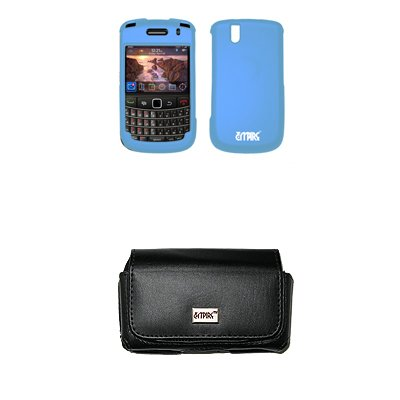 The Blackberry Bold 9650 orange case cover provides excellent protection
