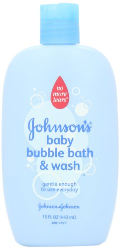 Jonnson & Johnson Baby Bath Bubble Bath And Wash 445 ml