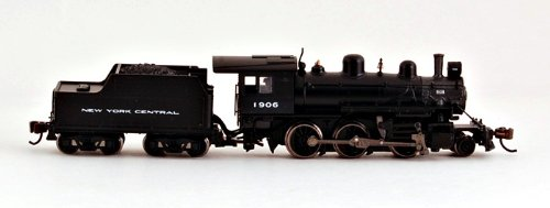 Bachmann Industries Alco 2-6-0 New York Central 1906 Steam Locomotive Car front-401635