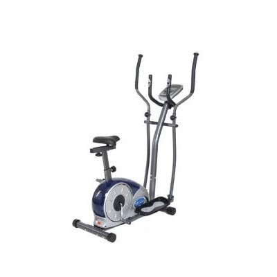 Body Champ BRM3671 Elliptical Dual Trainer with Seat Multicolor - BRM3671