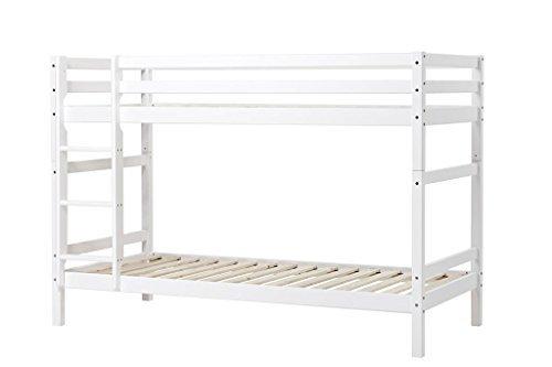 hoppekids kinder und jugendbett basic massivholz kiefer verschiedene ausf hrungen gr sse. Black Bedroom Furniture Sets. Home Design Ideas