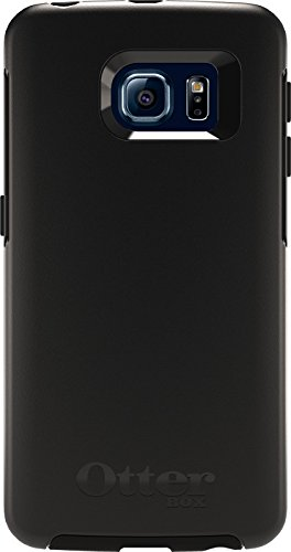 OtterBox SYMMETRY SERIES Case for Samsung Galaxy S6 EDGE - Frustration Free Packaging - BLACK (Otterbox For Samsung Note Edge compare prices)