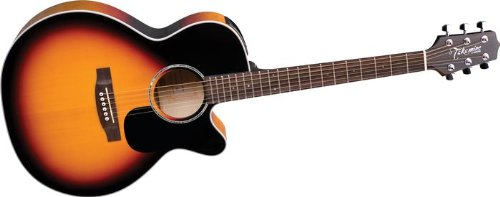 Takamine G Series EG450SMCSB NEX Acoustic Electric Guitar, Sunburst