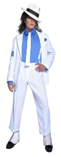 Smiffys Michael Jackson Smooth Criminal Costume (Medium)