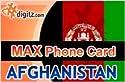 Afghanistan prepaid phone card