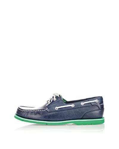 Rockport Mocassino Vela Summer Tour 2 Eye Boat [Blu Scuro]