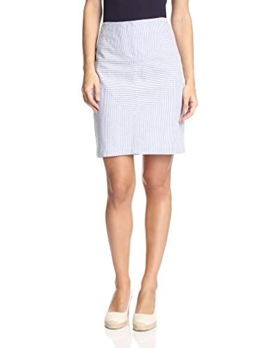 J. McLaughlin Women's Piper Seersucker Skirt