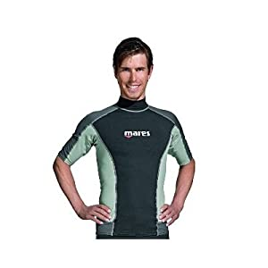 Mares Rash Guard Top - Mens Short Sleeve-L