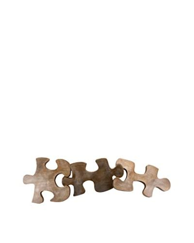 C'Jere By Artisan House Puzzled Wall Sculpture