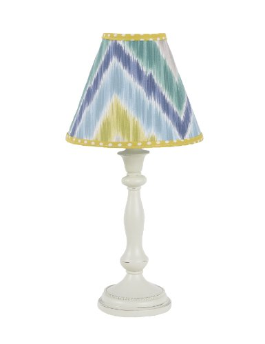 Cotton Tale Designs Standard Lamp and Shade, Zebra Romp