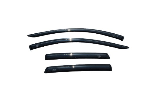 Auto Ventshade 94141 Smoke Colored Ventvisor - 4 Piece