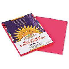 """Construction Paper, 58 lbs., 9 x 12, Hot Pink, 50 Sheets/Pa"