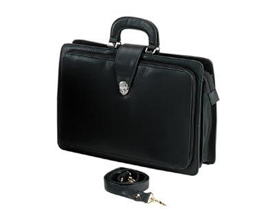 Falcon, BD-2504NU, Organiser Briefcase, Black